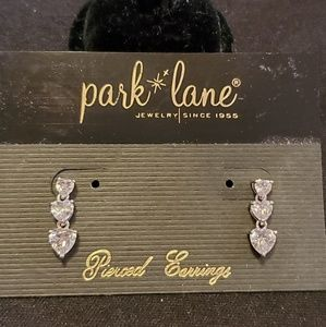 Park Lane Triple Heart Pierced Earrings